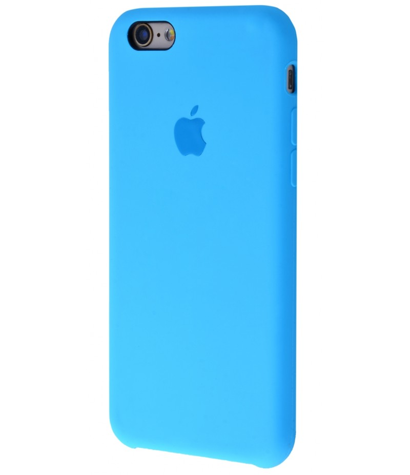 Original Silicone Case (Copy) for iPhone 6/6s Blue