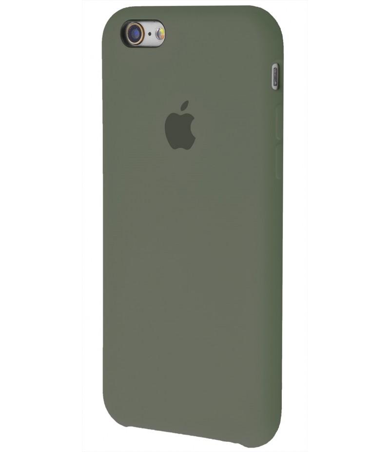 Original Silicon Case(copy) iphone 6 dark olive