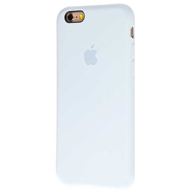 Original Silicone Case (Copy) for iPhone 6/6s Grey Blue