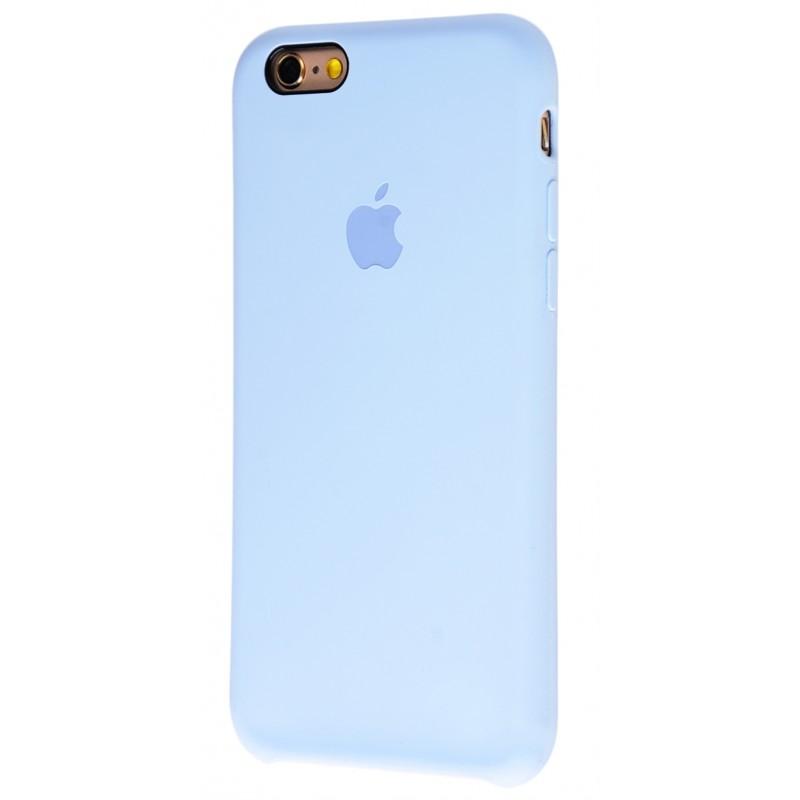 Original Silicone Case (Copy) for iPhone 6/6s Lilac Cream
