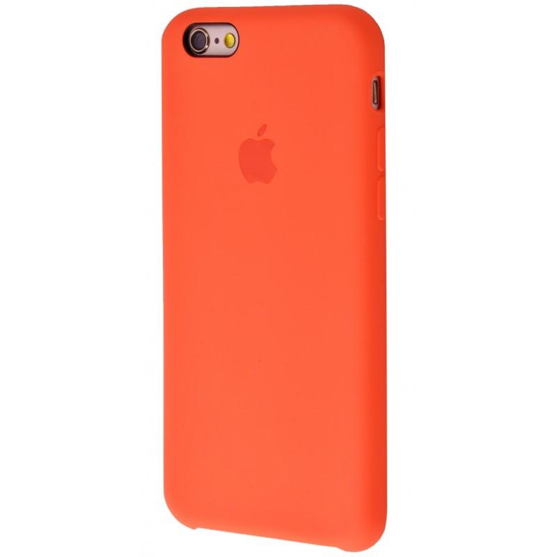 Original Silicone Case (Copy) for iPhone 6/6s Orange