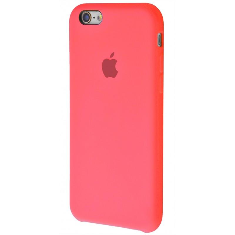 Original Silicone Case (Copy) for iPhone 6/6s Pink Orange