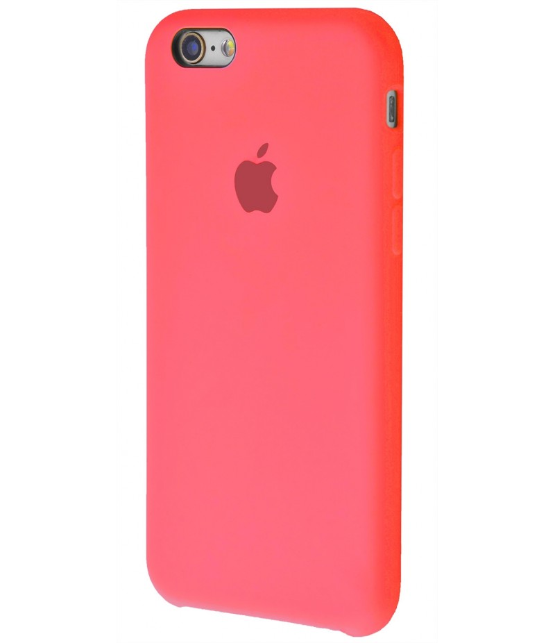 Original Silicone Case (Copy) for iPhone 6/6s Pink Orange