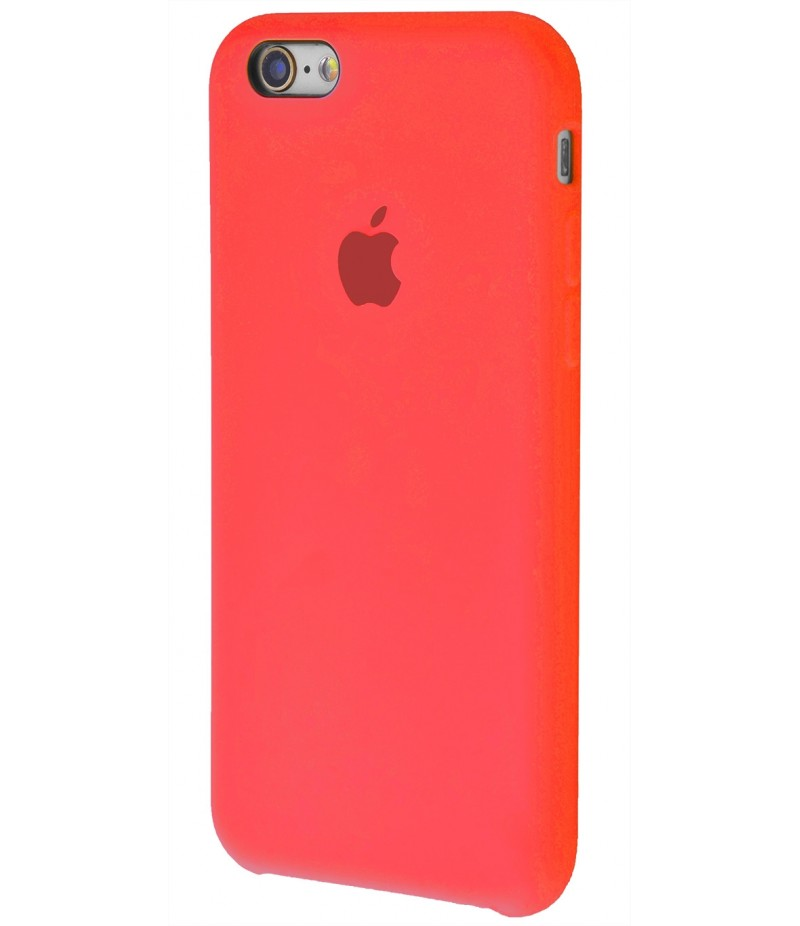 Original Silicone Case (Copy) for iPhone 6/6s Red
