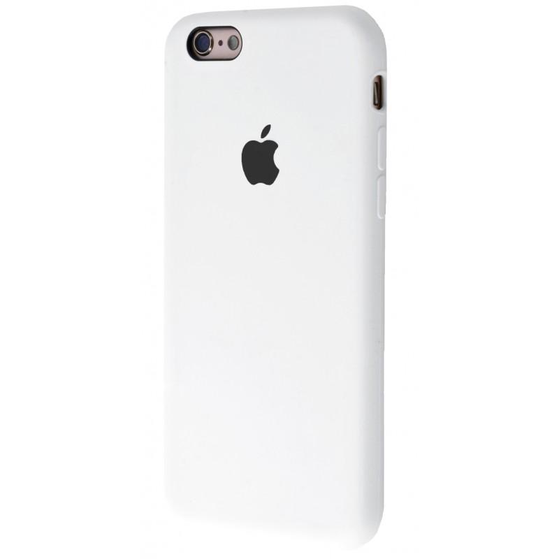 Original Silicone Case (Copy) for iPhone 6/6s White