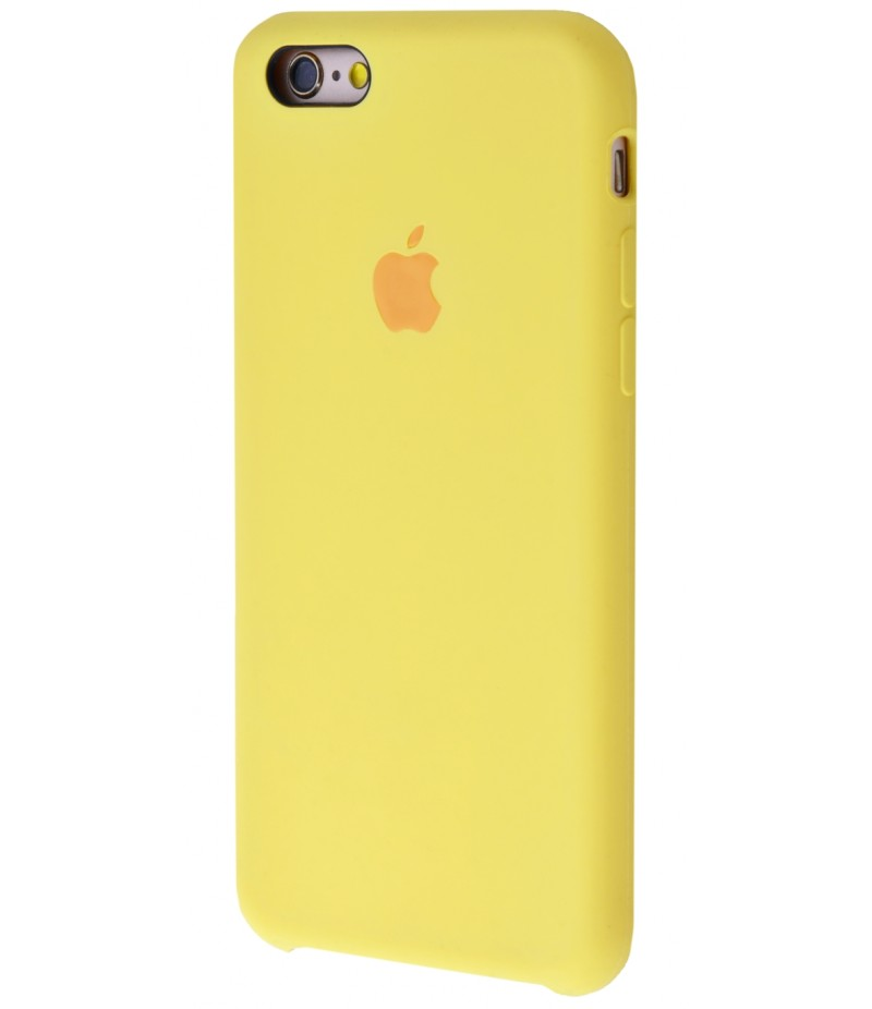 Original Silicone Case (Copy) for iPhone 6/6s Yellow