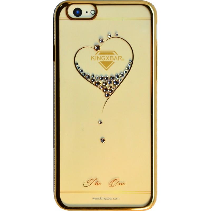 Накладка Kingxbar Heart iPhone 6/6s