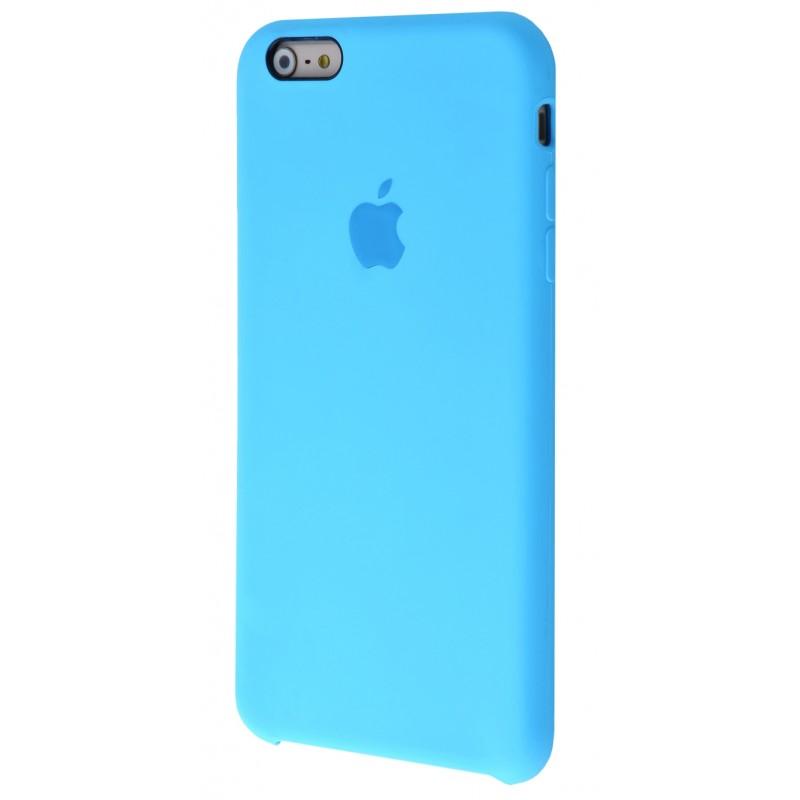 Original Silicone Case (Copy) for iPhone 6+/6s+ Blue