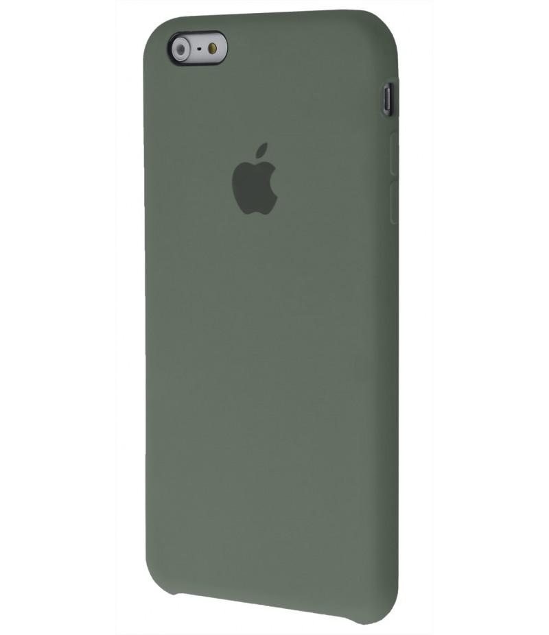 Original Silicon Case(copy) iphone 6+ dark olive