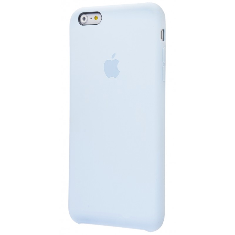 Original Silicone Case (Copy) for iPhone 6+/6s+ Grey Blue