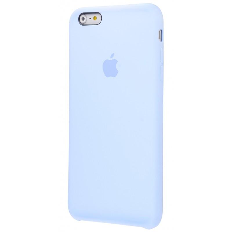 Original Silicone Case (Copy) for iPhone 6+/6s+ Lilac Cream