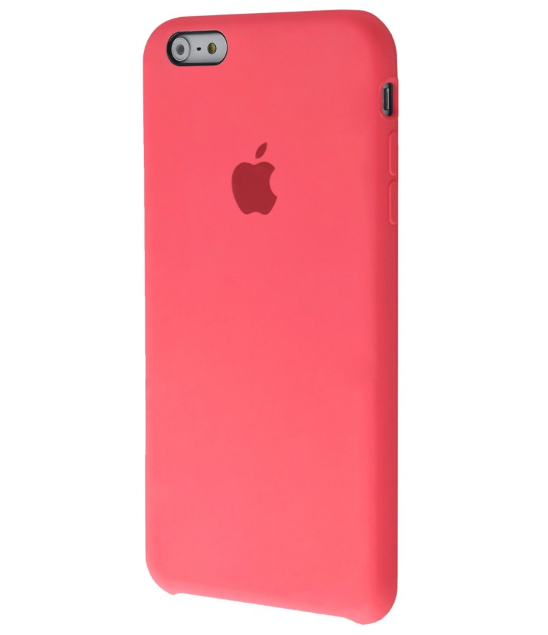 Original Silicone Case (Copy) for iPhone 6+/6s+ Pink Orange