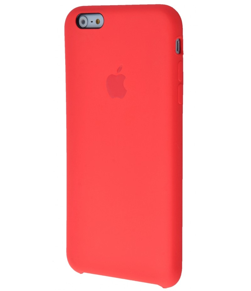Original Silicone Case (Copy) for iPhone 6+/6s+ Red