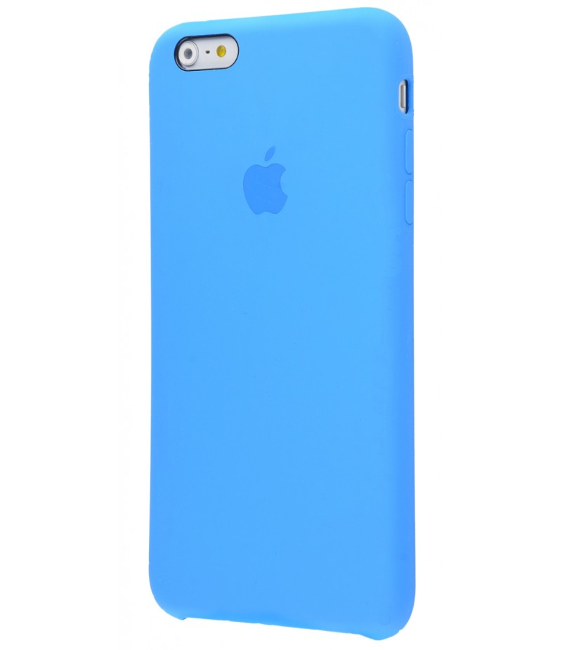 Original Silicone Case (Copy) for iPhone 6+/6s+ Tahoe Blue