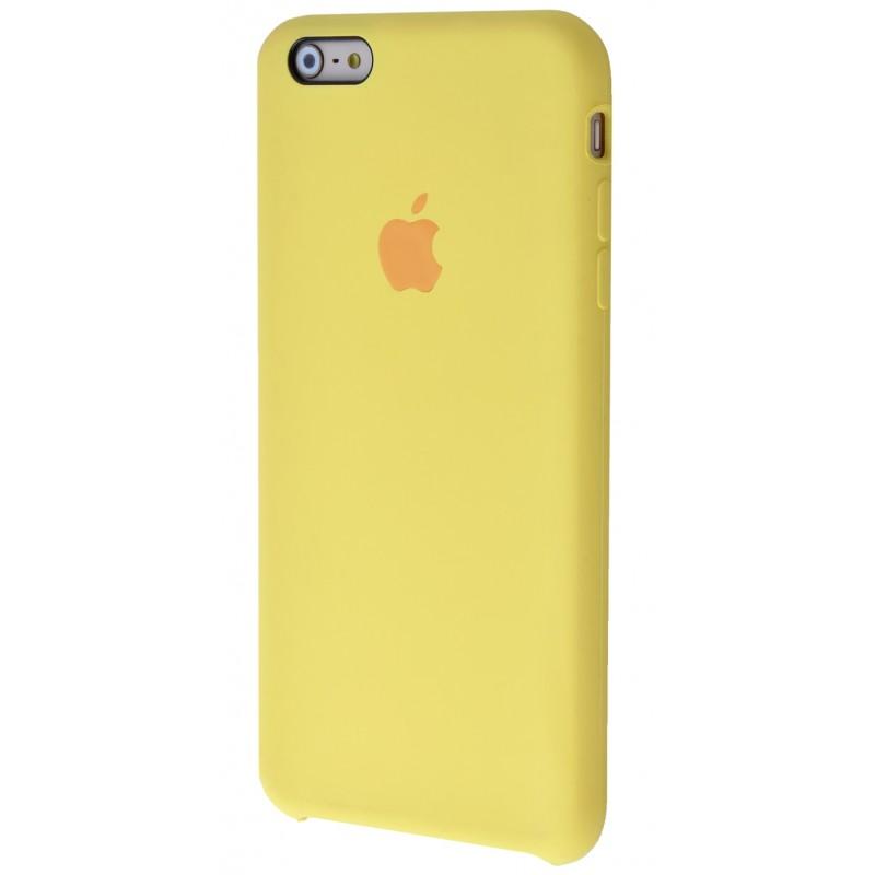 Original Silicon Case(copy) iphone 6+ yellow