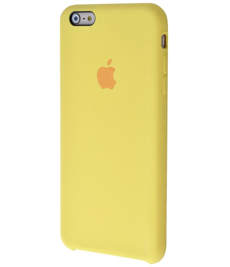 Original Silicone Case (Copy) for iPhone 6+/6s+ Yellow