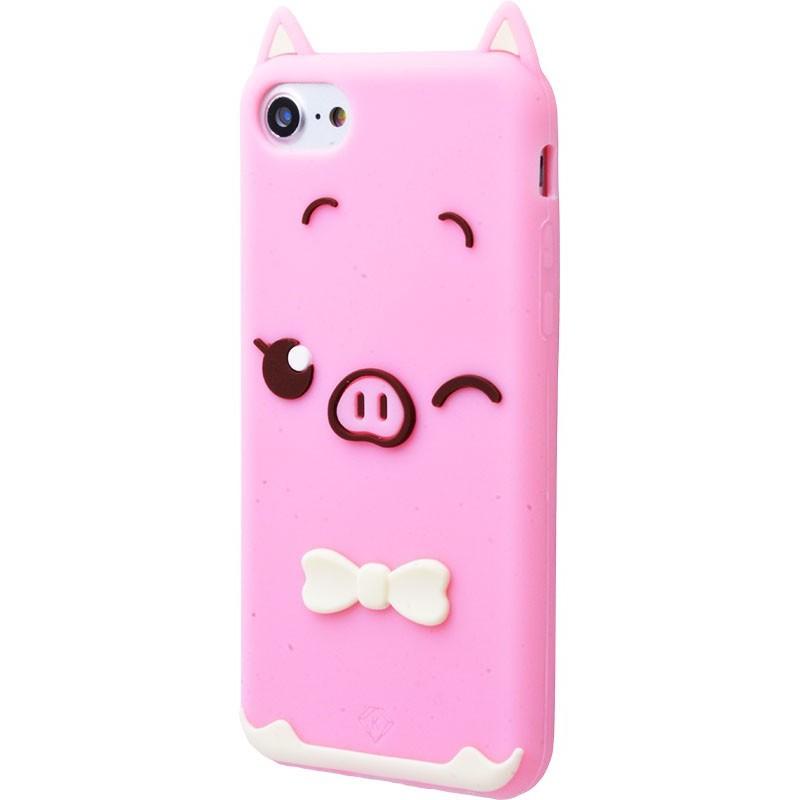 3D чохол Rixy Pig iPhone 7/8