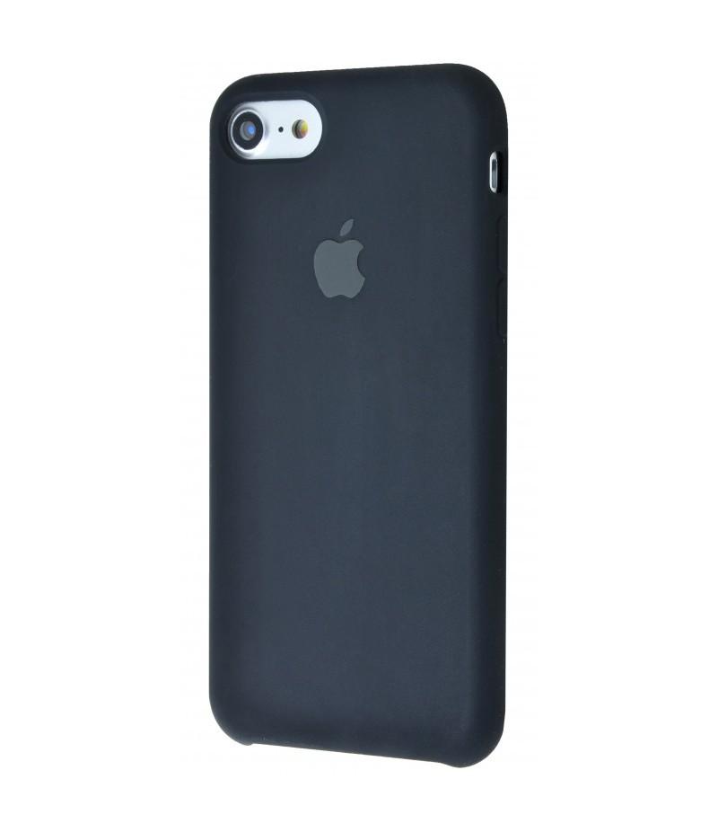 Original silicone case для IPhone 7 black