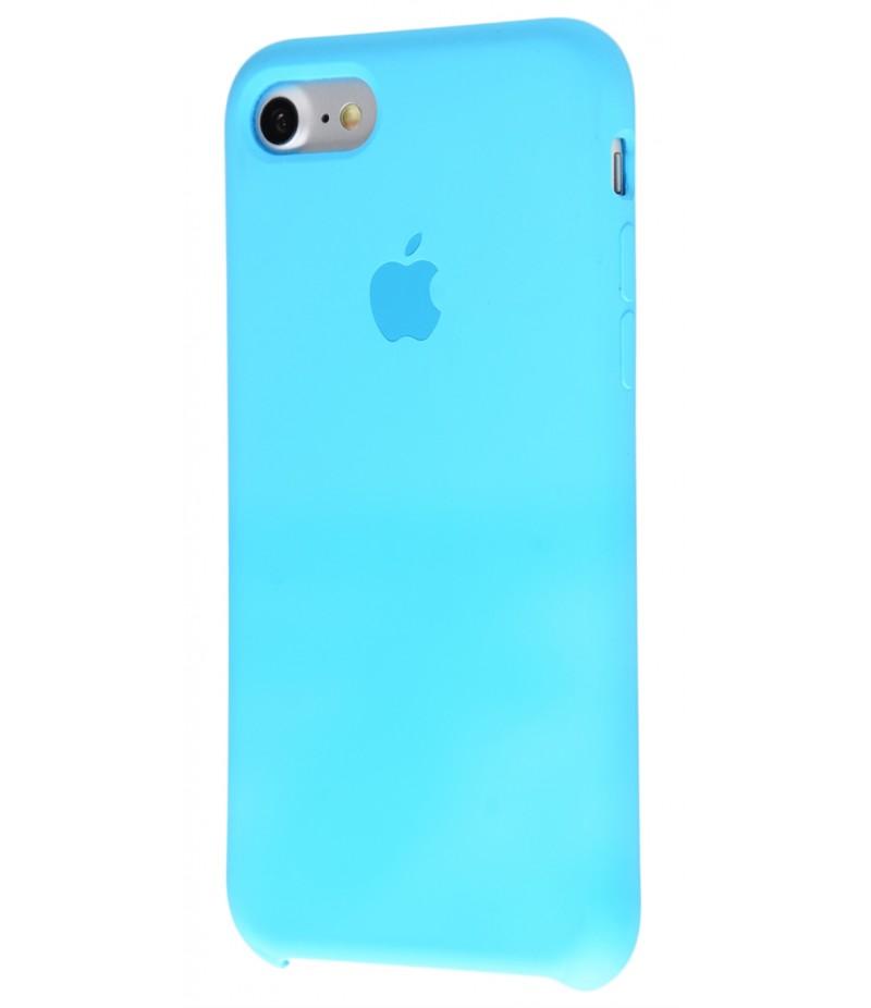 Original Silicon case(copy) iphone 7 blue