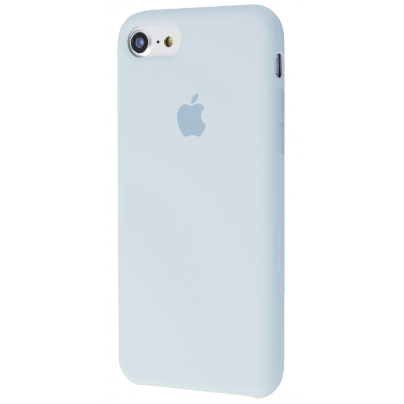 Original Silicone Case (Copy) for IPhone 7/8 Grey Blue