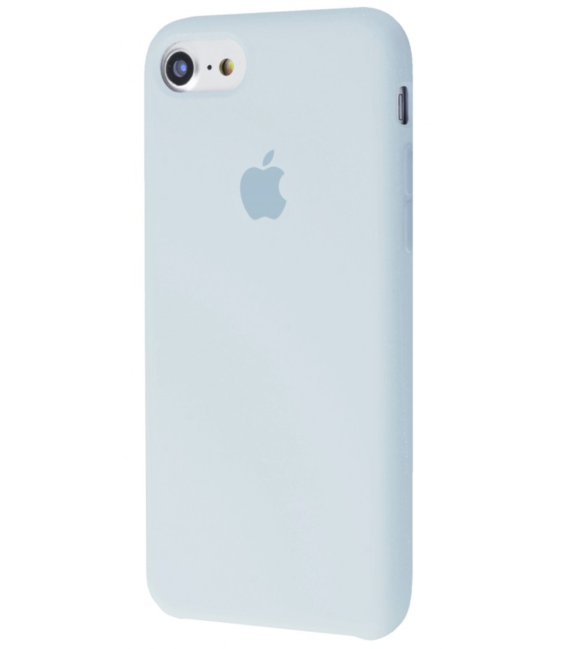 Original Silicone Case (Copy) for IPhone 7/8 Grey Blue