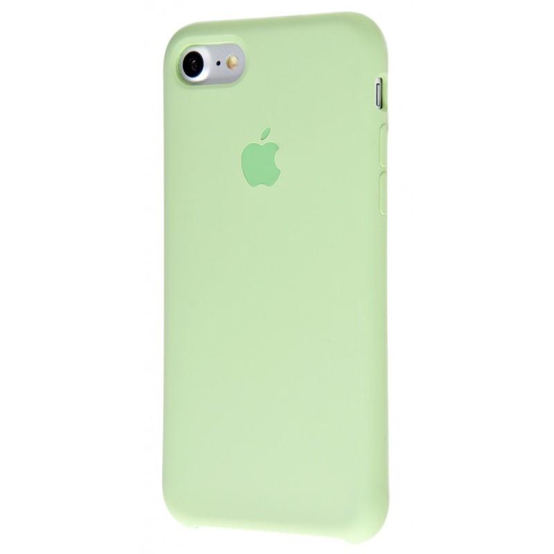 Original Silicone Case (Copy) for IPhone 7/8 Mint Gum