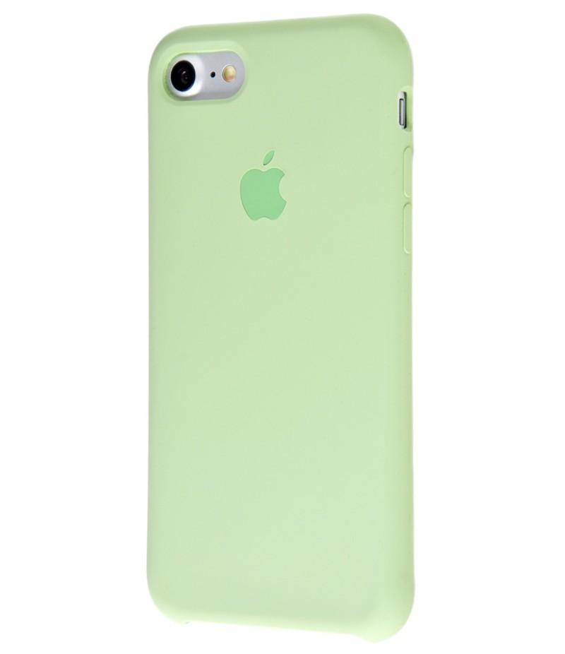 Original Silicone Case (Copy) for IPhone 7/8 Mint Gum