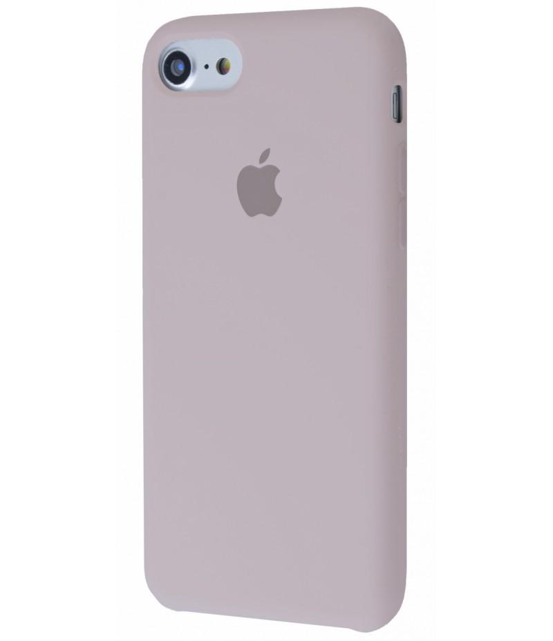 Original Silicon Case(copy) iphone 7 pebble