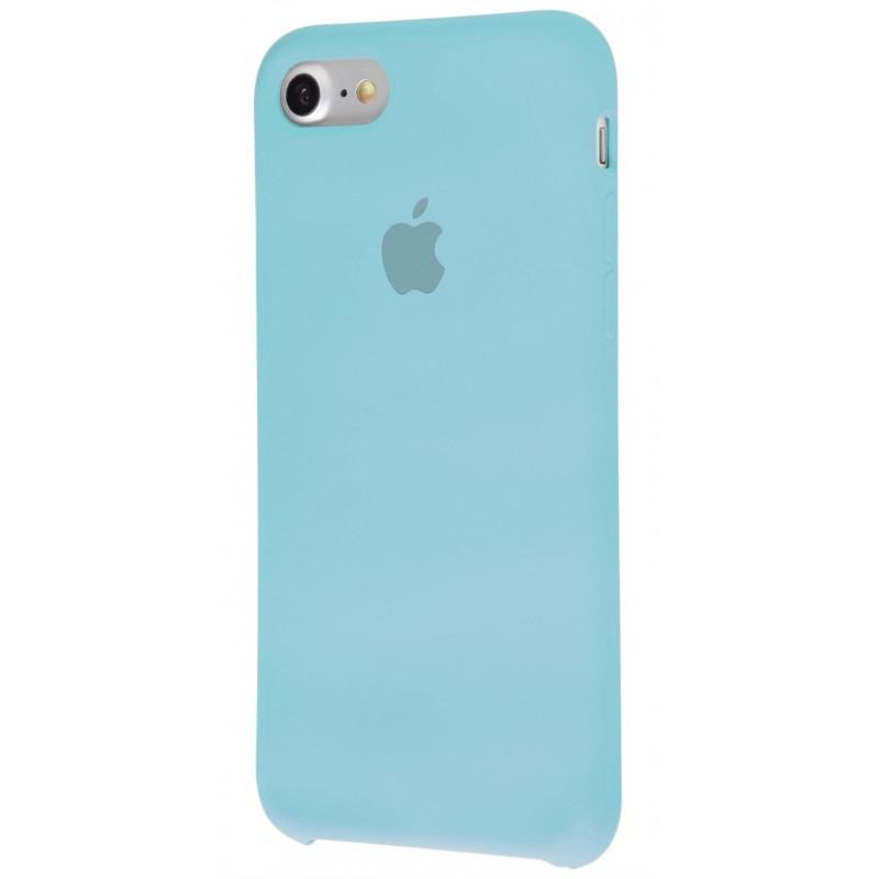 Original Silicon Case(copy) iphone 7 sea blue
