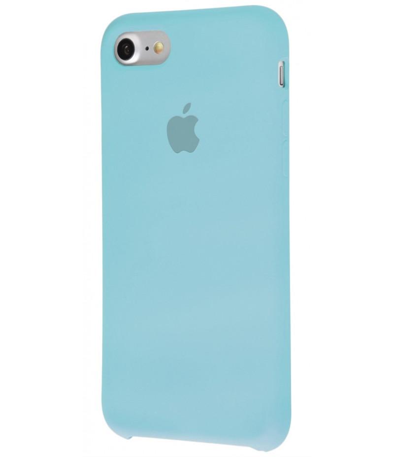 Original Silicone Case (Copy) for IPhone 7/8 Sea Blue