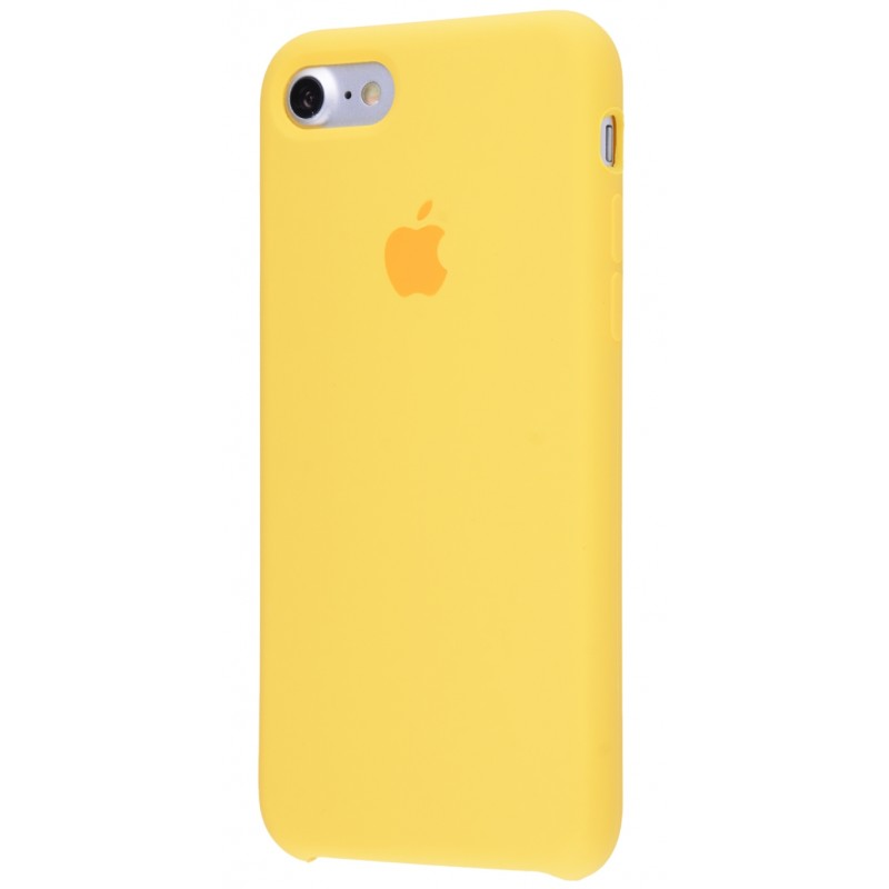 Original Silicone Case (Copy) for IPhone 7/8 Yellow