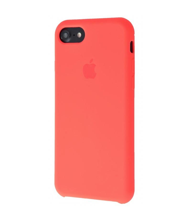 Original silicone case для IPhone 7 red