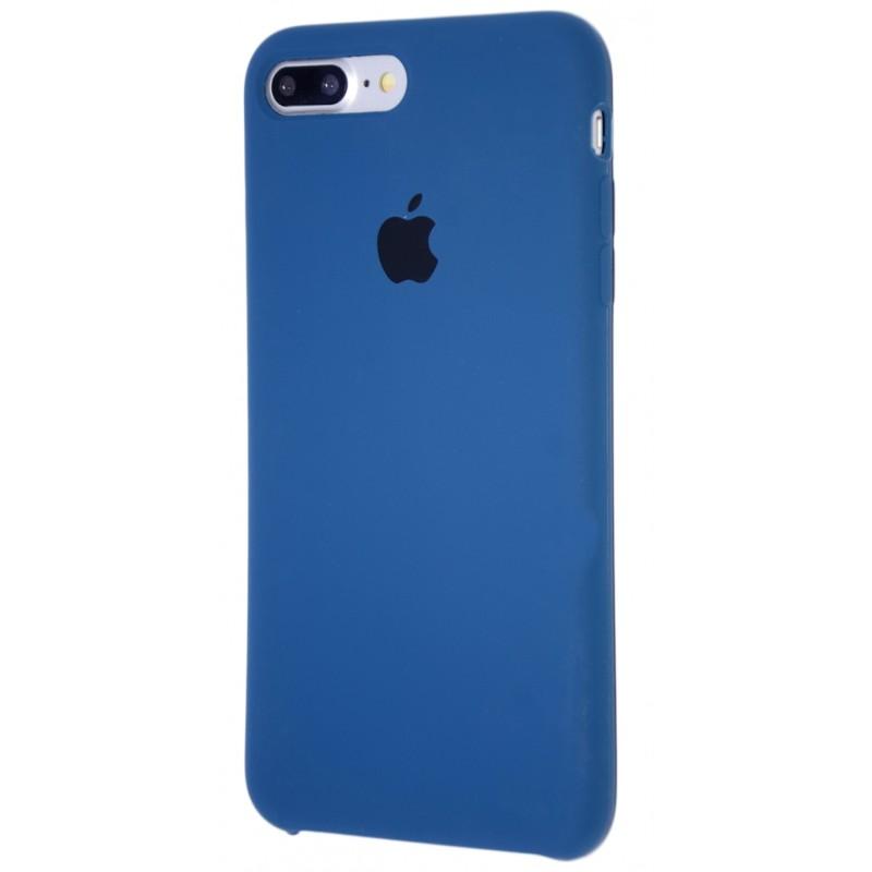 Original Silicone Case (Copy) for IPhone 7+/8+ Blue Cobalt