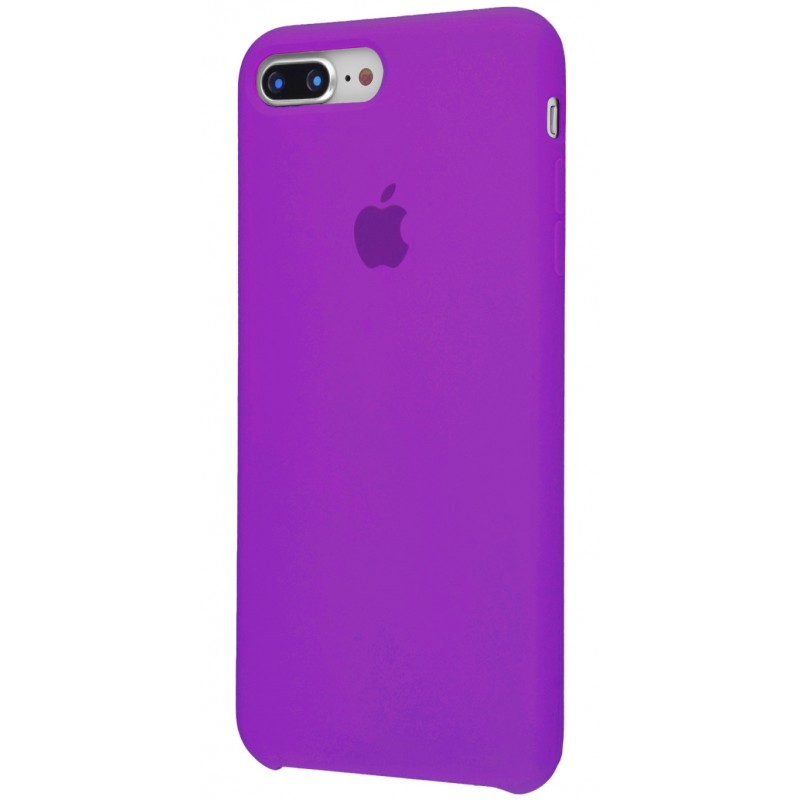 Original Silicon Case(copy) iphone 7+ fiolet