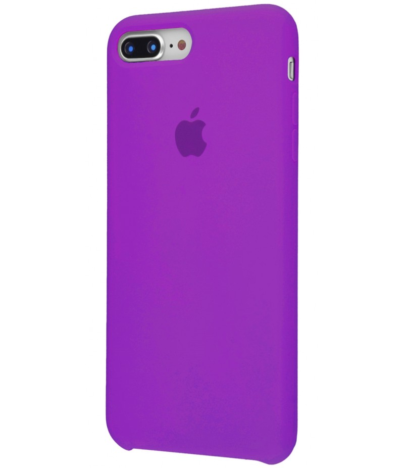 Original Silicone Case (Copy) for IPhone 7+/8+ Fiolet