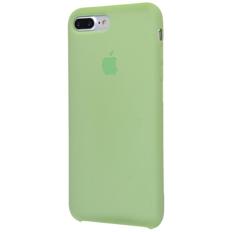Original Silicon Case(copy) iphone 7+ mint gum