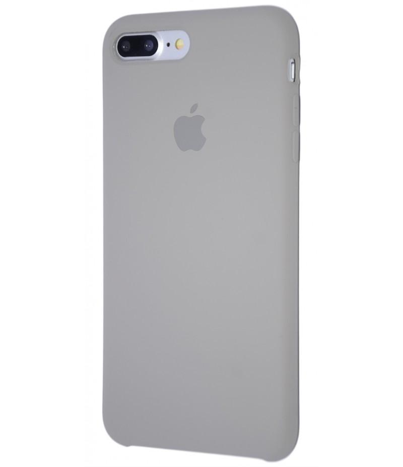 Original Silicon Case(copy) iphone 7+ pebble