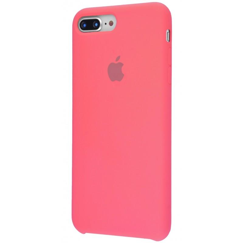 Original Silicone Case (Copy) for IPhone 7+/8+ Pink Orange