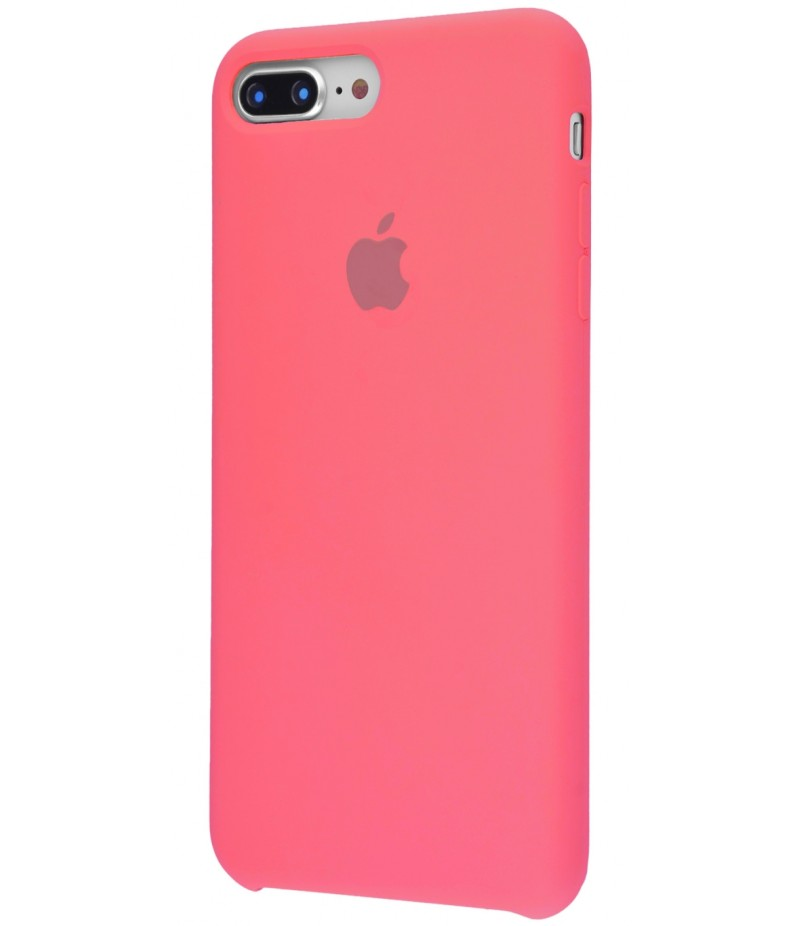 Original Silicone Case (Copy) for IPhone 7+/8+ Pink Orange