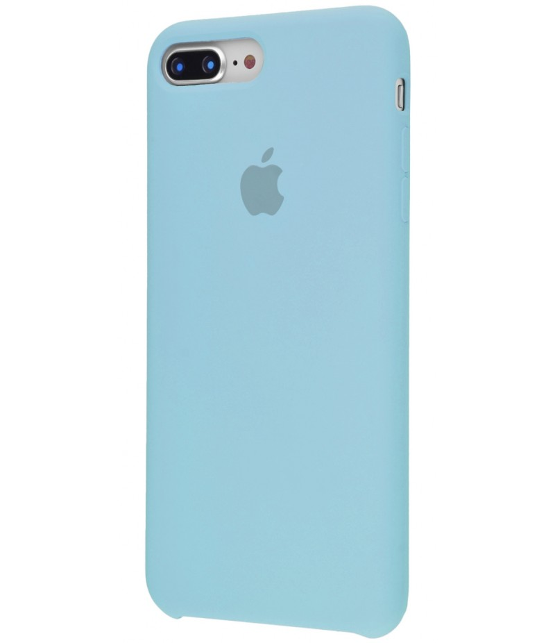 Original Silicone Case (Copy) for IPhone 7+/8+ Sea Blue