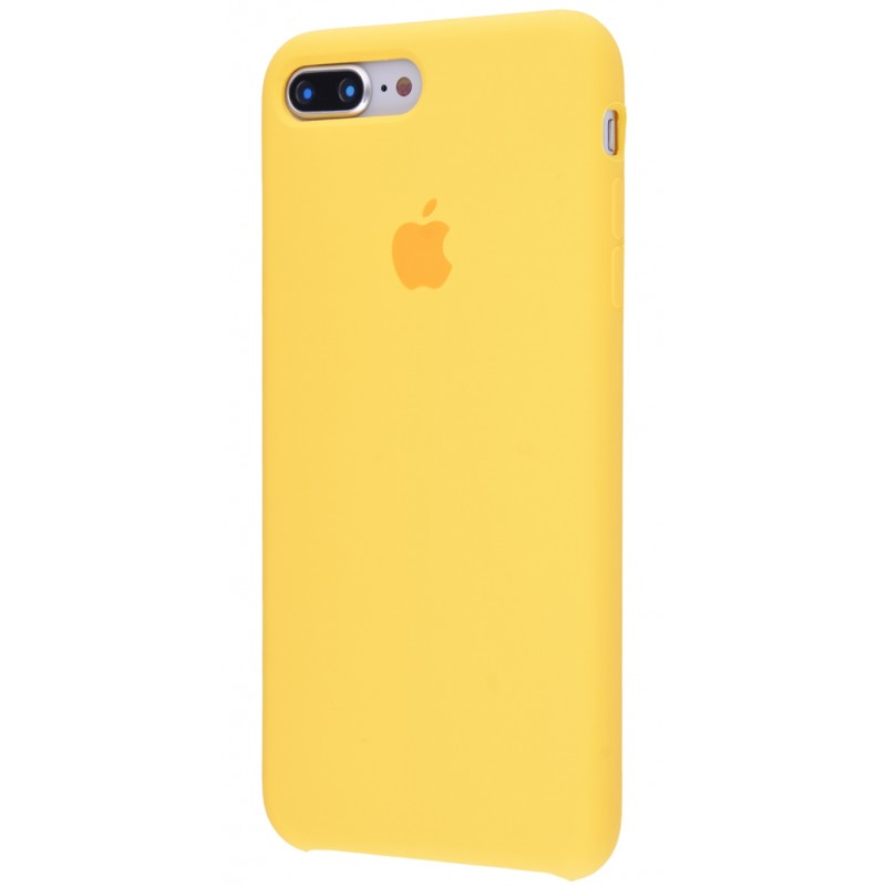 Original Silicone Case (Copy) for IPhone 7+/8+ Yellow