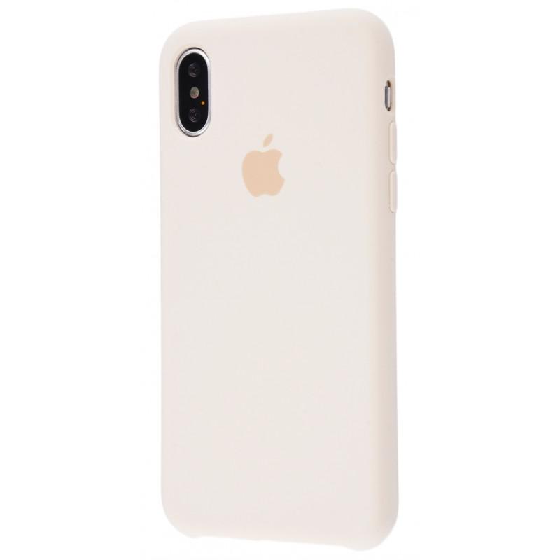 Original Silicone Case (Copy) for iPhone X Antique White