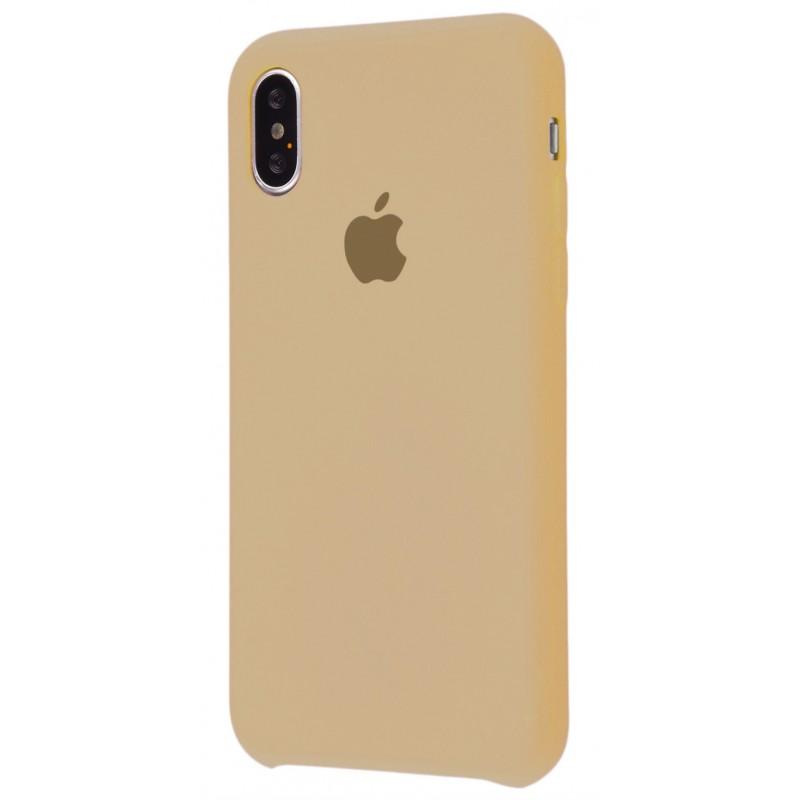 Original Silicone Case (Copy) for iPhone X Beige