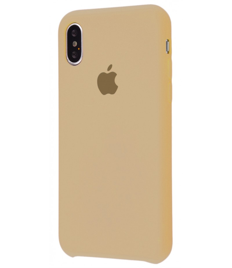 Original Silicon Case(copy) iphone X beige