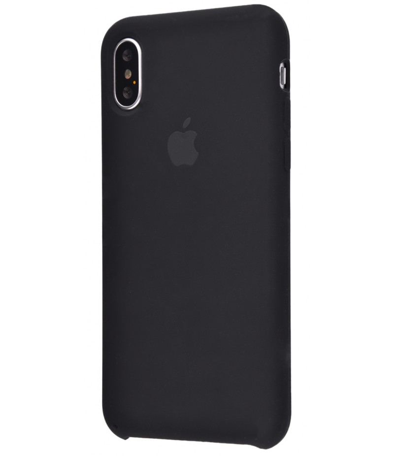 Original Silicon Case(copy) iphone X black
