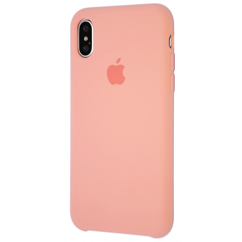 Original Silicone Case (Copy) for iPhone X Begonia Red