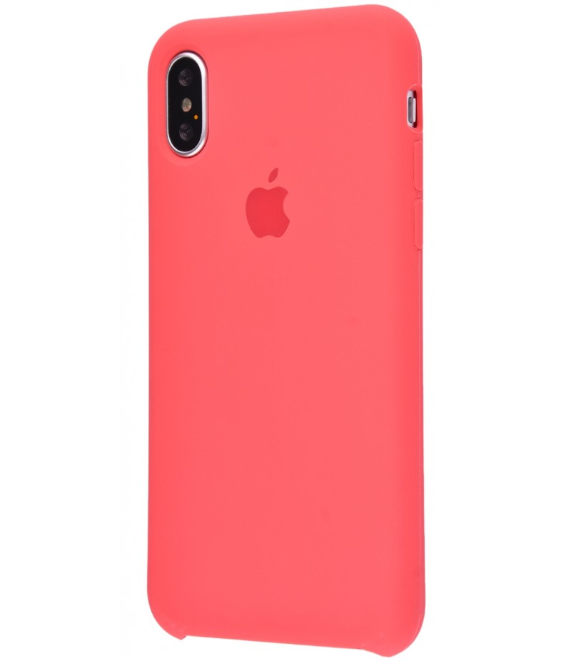 Original Silicone Case (Copy) for iPhone X Camelia