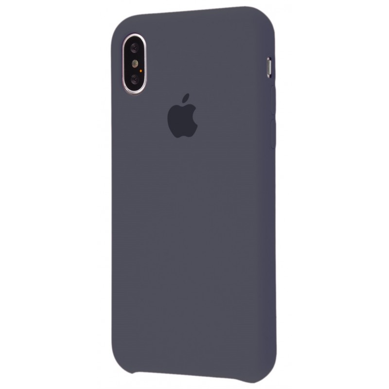 Original Silicone Case (Copy) for iPhone X Charcoal Grey