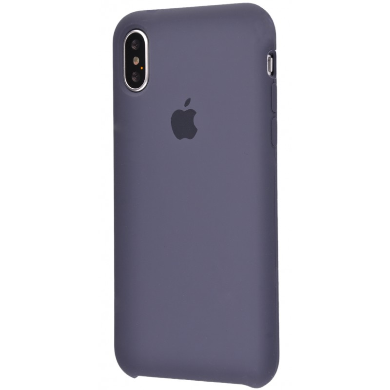 Original Silicone Case (Copy) for iPhone X Midnight Blue