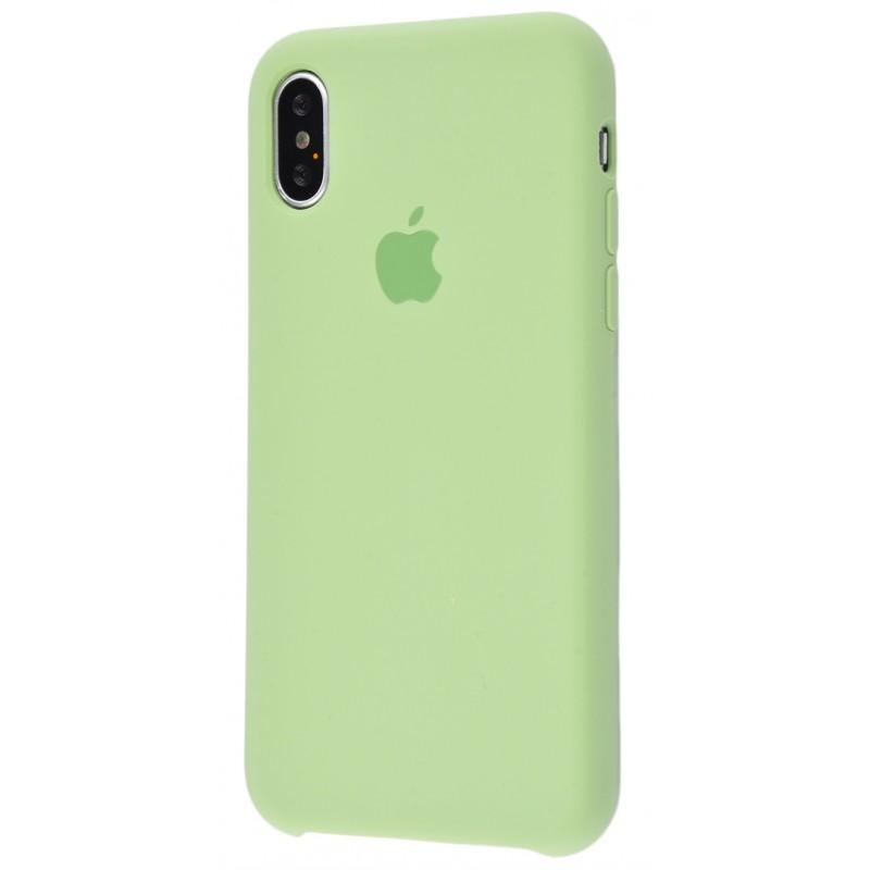 Original Silicone Case (Copy) for iPhone X Mint Gum